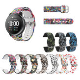 22mm Colorful Pattern Watch Band Watch Strap for Haylou Solar BW-HL3 BW-AT1
