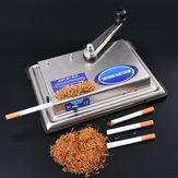 Manual do igarette de 70CM Rolete presente do fumador do fabricante do obacco da máquina de rolamento T do injector