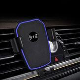 FDGAO chargeur sans fil de voiture support d'induction par gravité 10W chargeur universel de téléphone de charge rapide pour iPhone XS 11Pro Mi10 Note 9S