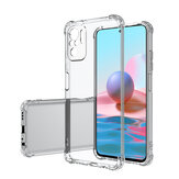 Bakeey for Xiaomi Redmi Note 10 / Redmi Note 10S Case with Air Bag Shockproof Transparent Non-Yellow Soft TPU Protective Case Non-Original