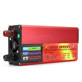 5000W Peaks DC 12 / 24V to AC 110V Car Power Inverter Digital Modified Sine Waves Converter