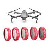 Ensemble de filtres étanches pour objectif de caméra UV CPL ND4 ND8 ND16 STAR pour DJI Drone de zoom MAVIC 2