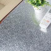 ورق حائط مطبخ ذاتي اللصق ومقاوم للزيت من رقائق الألومنيوم