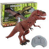 Plastic Infrared Remote Controlled Red Dinosaur Imitation Tyrannosaurus Rex Model Toy