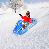SUNSHINE Skiing Circle PVC Inflatable Skiing Ring Cold-resistant Snow Sled Boat Winter Toy Floated Skiing Board