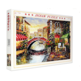 1000 Pieces Paper Puzzle Landscape Architecture Series Children Adult Educational Leisure Jigsaw Puzzle Toy