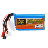 ZOP Power 7.4V 2000mah 8C Lipo Батарея для Frsky ACCST Taranis Q X7 Передатчика