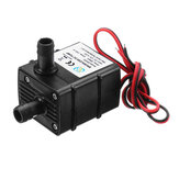 Machifit QR30E Ultra-tenang Mini Brushless Pump DC 12 V 4.2W 240L / H Tingkat Aliran Pompa Air Submersible