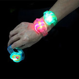 Camtoa LED Flash Bracelet Luminous Halloween  Party Wrist Band Decoration Toy
