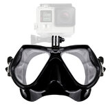 Scuba Diving Mask With Camera Mount Tempered Glass Profession Snorkel Mask Underwater Sport Scuba Gear Equipments