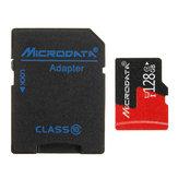 Microdata 128GB C10 U1 Карта памяти Micro TF с конвертером адаптера карты для TF в SD