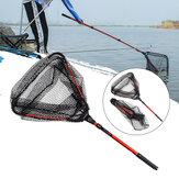 LEO retráctil plegable pesca Red de agua dulce pesca Red de pala pesca herramientas