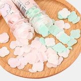 Portabel Pakai Sabun Tangan Kertas Sabun Serpih Botol Tabung Kartun Bunga Tangan Sabun Kertas