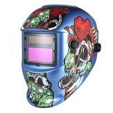 Solar Pro Auto Darkening Welding Helmet Arc Tig Mig Grinding Welders Mask
