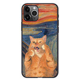 Creative Retro Olio Painting Cat Modello Cover protettiva per iPhone 11/11 Pro / 11 Pro Max / SE / X / XS / XR / XS Max / 6S / 6S Plus/7/8 / 7 Plus/8 Plus