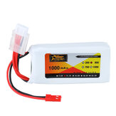 ZOP Power 11.1V 1000mAh 3S 30C Lipo Battery JST Plug