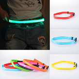 LED knipperlint Veiligheid Reflecterende Taille Band Fiets Jogging Running Belt