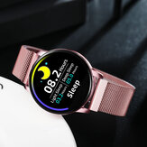 Newwear Q20 Edge to Edge Screen Heart Rate Monitor Physiological Cycle Call Rejection 30Days Standby Smart Watch