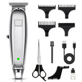 USB Rechargeable Hair Clippers for Men Cordless Hair Trimmer Quiet Electric Haircut Kit Ultra with Barber Beard Comb