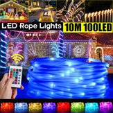 5M 10M USB LED Tube Fairy String Light 24Keys IR Remote Control RGB Waterproof Holiday Lamp