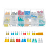 220pcs Mini Standard Blade Fuse Assortment Auto Car Truck Kit