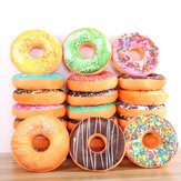 Donut peluche jouet en peluche Soft Donut Food Back Set de voiture de selle Kids Gift Decor