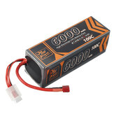 ZOP Power 14.8V 6000mAh 100C 4S T Plug Lipo Batteria per auto RC