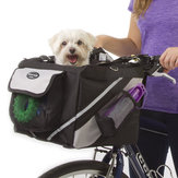 Puppy Pet Bicycle Bicycle Basket Storage Puppy Ride Bike Canopy Perro Gato Carrier Safety Bike Basket
