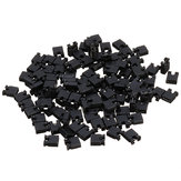 500pcs 2.54mm Jumper Cap Short Circuit Cap Pin Connector Block