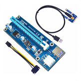 ITHOO Laptop External PCI-E Independent Graphics Card Mini PCI-E1X to 16X Adapter Card Expansion Card