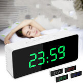 Digital Mirror LED Display Sveglia Snooze Calendario temperatura orologio da tavolo