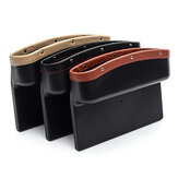Leather Car Seat Storage Box Auto Seat Gap Pocket Phone Card Cigarettes Organizer