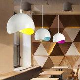 Modern Ülke Retro Yumurta Kabuğu Kolye Tavan Işık Abajur Ev Mutfak Dekorasyon