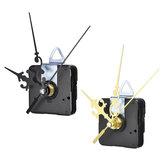 12mm Gold / Schwarz Quarz Still Uhrwerk Mechanismus Modul DIY Satz Stunde Minute Sekunde ohne Schläger