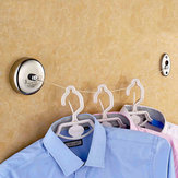 2.5m Stainless Steel Retractable Indoor Clothes Line For Home Hotel