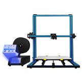 TRONXY® X3SA-400 Aluminiowa drukarka 3D 400 * 400 * 420 mm Rozmiar wydruku z 3,5-calowym ekranem dotykowym / Auto-leveling / Drukowanie Rusume / Wykrywanie braku włókien / Podwójna śruba osi Z