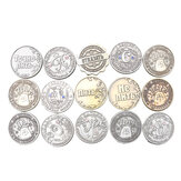 15 Pattern Vintage Russian Metal Coins Imitated Copy Collect Currency Gifts Novelty