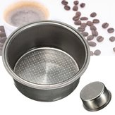 Dia 51mm Stainless Steel Non Pressurized Filter Basket Reusable Coffee Filter Untuk Mesin Kopi