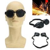 Welding Cutting Welders Óculos de segurança industrial Steampunk Cup Goggles