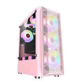 GAMEKM ATX Computer Gaming Caso Water Cooling Desktop Support ATX / M-ATX / ITX Placa-mãe para PC