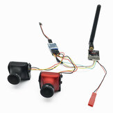 2.5mm 700TVL CCD Dual FPV Camera + EWRF 5.8G 48CH 25/200/600mW Switchable FPV Transmitter Combo for FPV Racing RC Drone