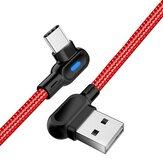 OLAF USB Type C 90-градусный локоть для быстрой зарядки данных для планшета HUAWEI Смартфон 1M