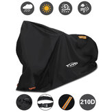 TVIRD 96.5x41x50inch Bike Cover Waterproof Anti Dust UV Windproof Motorcycle Scooter Protection with 2 Lock Holes & Reflective Strips