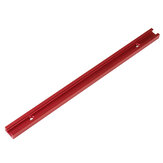 Red Aluminum Alloy 300-1220mm T-track T-slot Miter Track Jig T Screw Fixture Slot 19x9.5mm For Table Saw Router Table Woodworking Tool