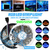 0.5M/1M/3M/5M Waterproof 5050 RGB LED Strip Light Kit Color Changing Tape Under Cabinet Kitchen Lighting