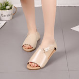 Season Female Sandals Europe And America Large Size Flat Sandals Women