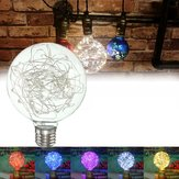 E27 Star Starry Sky Edison 50LED Firework Filament Retro Xmas Decor Light 5Color Żarówka AC85-265