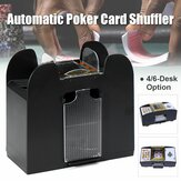 4/6-Deck Shuffler automatique de cartes Batterie a actionné la machine de jeu de poker de casino