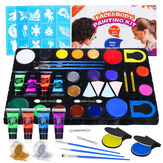 UV Glow Blacklight Face and Body Paint Kit