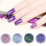Glitter Nail Decoration Powder Manicure Salon Shinning Tips UV Gel DIY Ontwerp